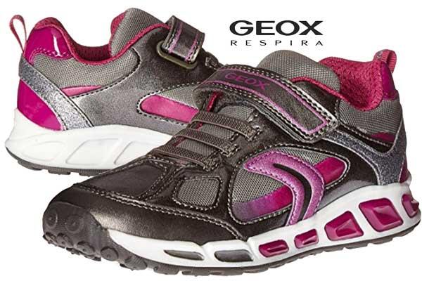 parcialidad Velocidad supersónica Solenoide  Chollo! Zapatillas Geox J Shuttle Girl D baratas desde 26,9€ -59% Descuento