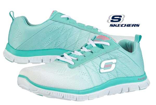 f5ec111cdec37 zapatillas skechers Flex Appeal baratas oferta descuentos chollos blog de  ofertas