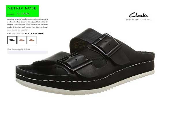 Comprar Clarks Cuero Netrix Mujer barata chollos amazon blog de ofertas bdo