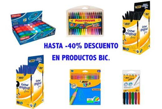Promoción Productos Bic hasta -40 descuento ofertas blog de ofertas descuentos chollos .jpg