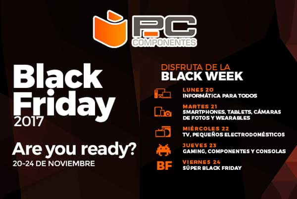 black friday pccomponentes 2017 chollos amazon blog de ofertas bdo