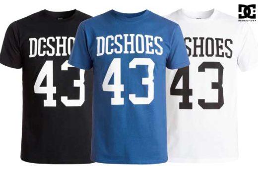 camiseta dc shoes numbers barata oferta descuento chollo blog de ofertas
