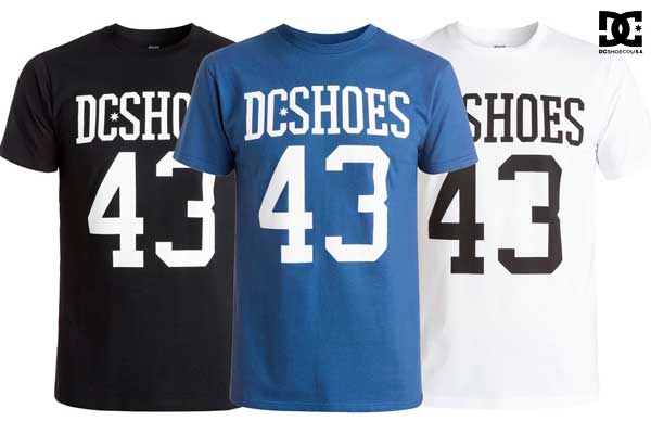 camiseta dc shoes numbers barata oferta descuento chollo blog de ofertas