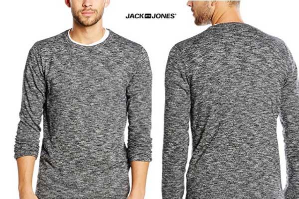 comprar jersey gris jack jones hombre barato chollos amazon blog de ofertas bdo