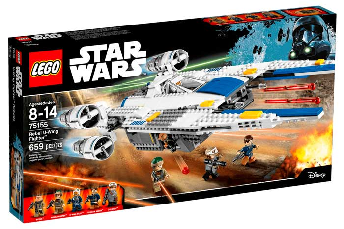 comprar nave lego star wars u-wing fighter barato chollos amazon blog de ofertas bdo
