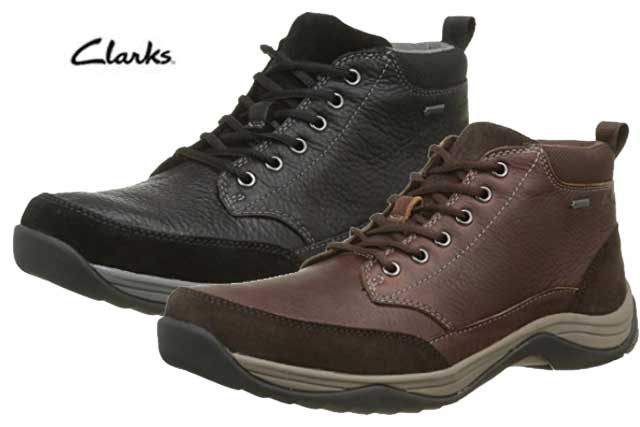 Chollo botas clarks baystonetopgtx baratas 81 49 for Zapateros baratos amazon