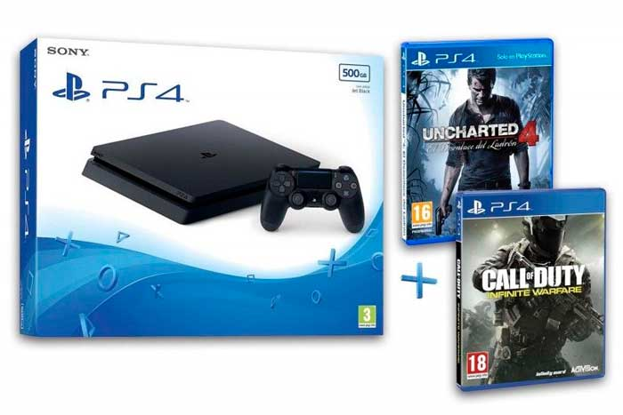 consola ps4 barata uncharted 4 cod infinite warfare chollos ebay blog de ofertas bdo