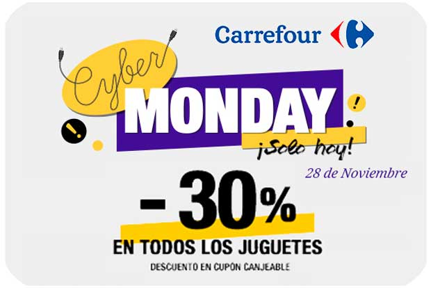 cyber monday carrefour chollo regalo rebajas blog de ofertas bdo