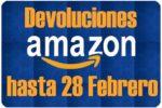 Compra AHORA en Amazon y Devuelve hasta 28 de Febrero 2017