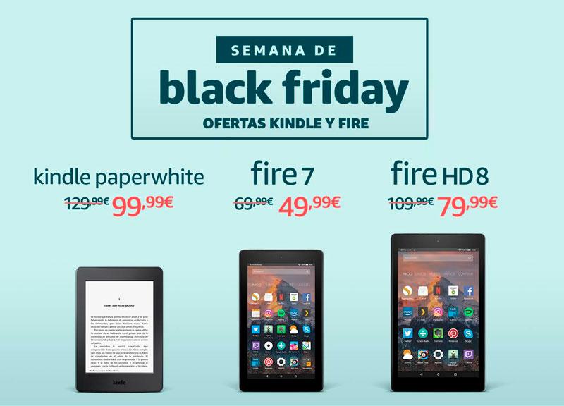 semana black friday kindle paperwhite barata chollos amazon blog de ofertas bdo