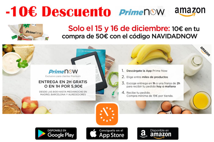 10 euros descuento primenow blog de ofertas bdo chollos amazon