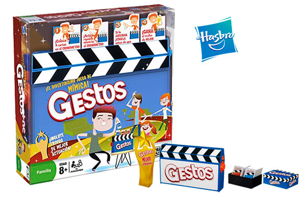 Chollo Juego De Mesa Hasbro Gestos Barato 25