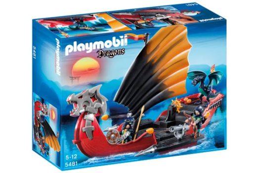 Playmobil baro de batalla del dragon barato oferta descuento chollo blog de oferta