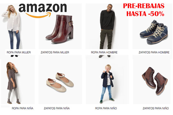 Pre rebajas Amazon hasta -50 descuento chollos blog de ofertas descuentos ofertas