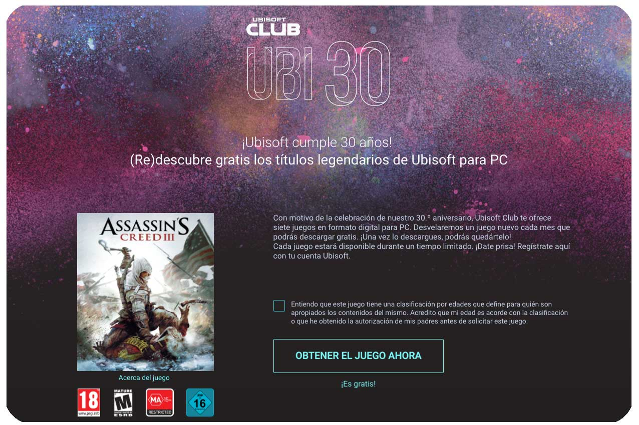 assassin´s creed 3 gratis chollos rebajas blog de ofertas bdo