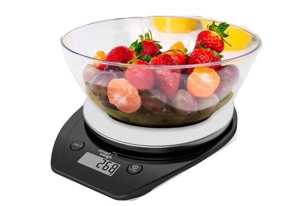 Chollo b scula electr nica smart weigh barata 8 27 - Bascula de cocina barata ...