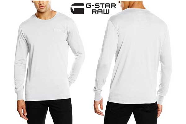 camiseta G Star Raw Classic barata oferta descuento chollo blog de ofertas