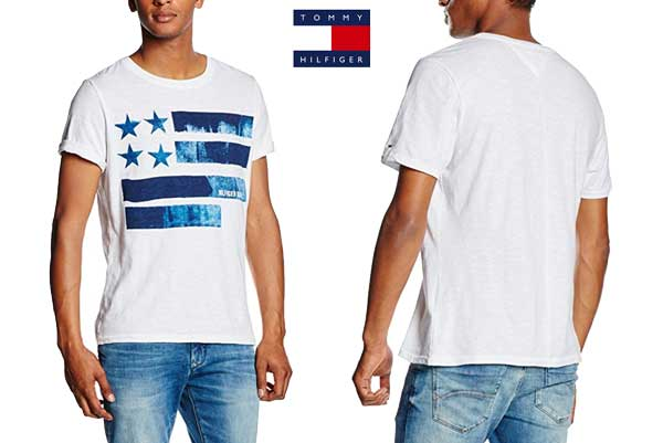 camiseta tommy hilfiger denim barata oferta chollo descuento blog d ofertas