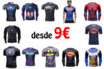 ¡Chollo! Camisetas de compresión de Comics baratas desde 9€
