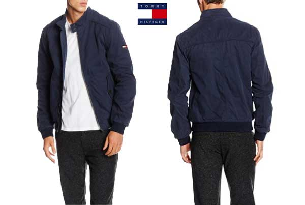 chaqueta tommy hilfiger harrington barato oferta descuento chollo blog de ofertas