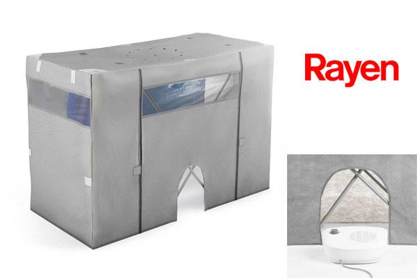 comprar Cubre tendedero calefactor Rayen barato chollos amazon blog de ofertas bdo