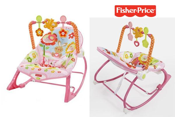 comprar Hamaca crece conmigo rosa Fisher Price barata chollos amazon blog de ofertas bdo