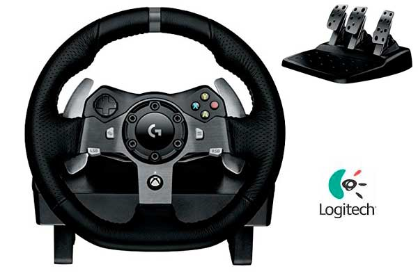 comprar Volante carreras Driving Force Logitech barato chollos amazon blog de ofertas bdo