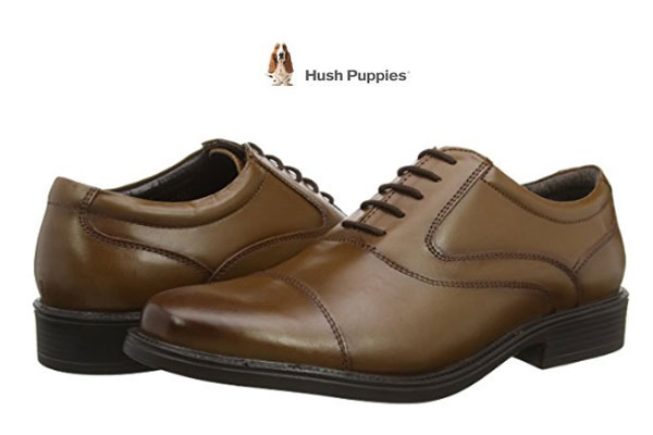 Chollo zapatos hush puppies rockford oxford toe cap for Zapateros baratos amazon