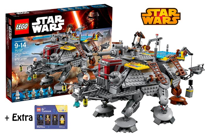 comprar lego star wars AT-TE Capitan Rex barato chollos toysrus amazon blog de ofertas bdo