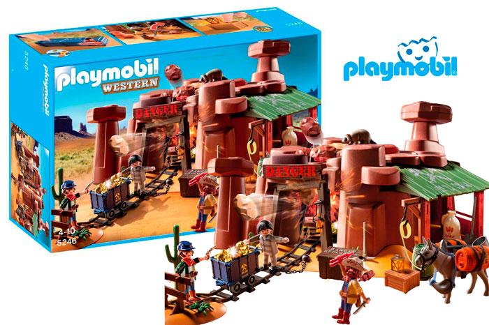 comprar mina del oeste playmobil barata chollos amazon blog de ofertas bdo