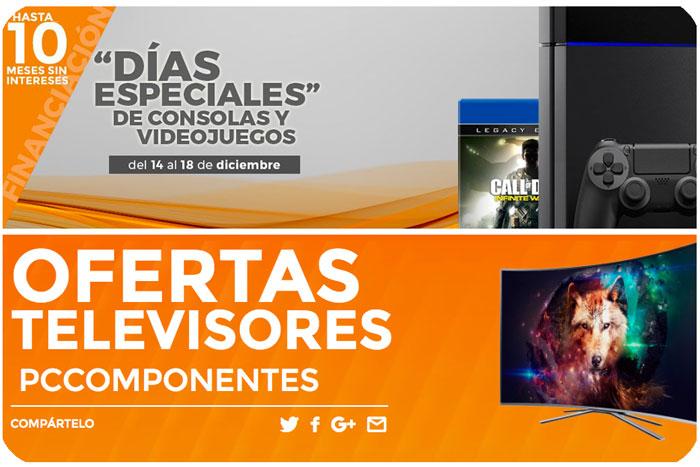dias especiales pccomponentes chollos rebajas informatica televisores videojuegos consolas blog de ofertas bdo