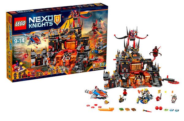 guarida volcánica de Jestro lego Nexo Knights barato oferta descuento chollo