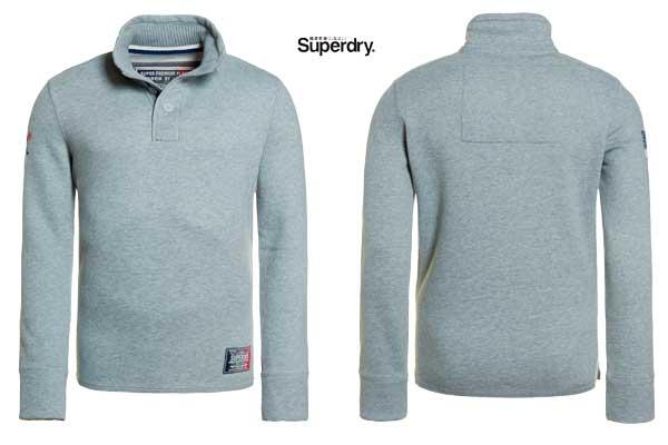 jersey superdry challenger Henley barato oferta descuento chollo blog de ofertas