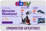 Monster Weekend en eBay con hasta -75% Descuento ¡Hasta 13 de Marzo!