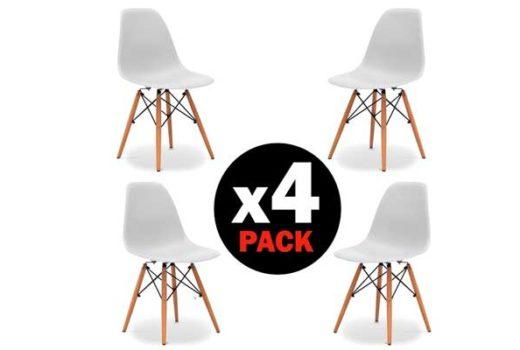 Pack 4 sillas tower baratas ofertas descuentos chollos blog de ofertas
