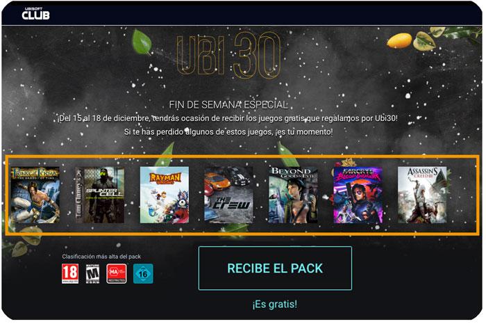 pack juegos gratis ubisoft navidad 2016 chollos rebajas blog de ofertas bdo