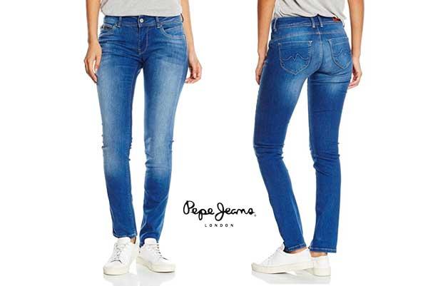 pantalones pepe jeans New Brooke baratas ofertas descuentos chollos blog de ofertas