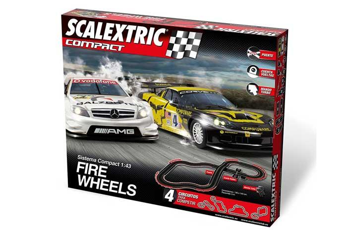 scalextric compact fire wheels barato chollos amazon blog de ofertas bdo