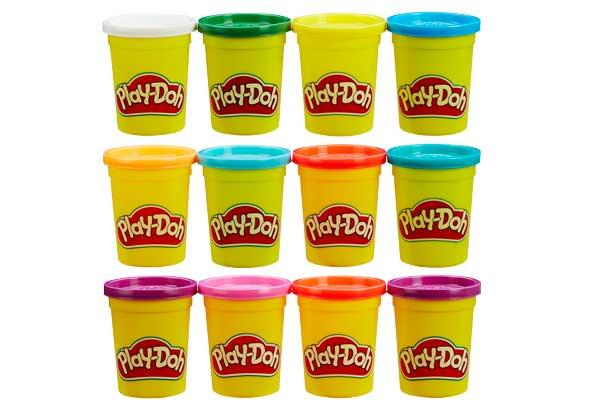 Pack 12 botes de plastilina Play-Doh barato ofertas descuentos chollos blog de oferta
