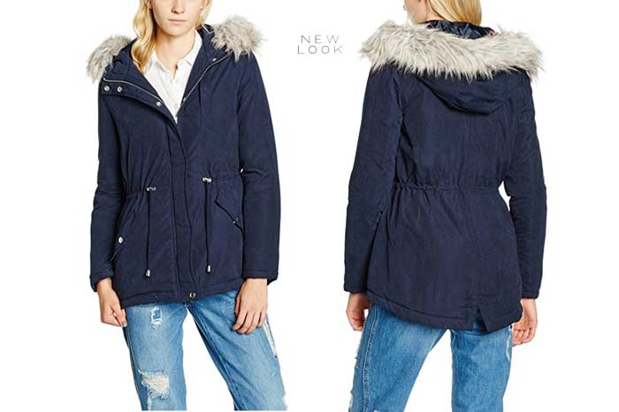 Parka New Look barata oferta descuento chollo blog de ofertas