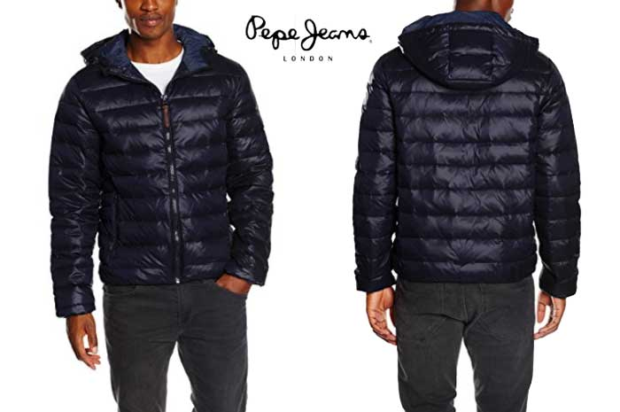 Plumon pepe jeans galdor barato oferta descuento chollo blog de ofertas