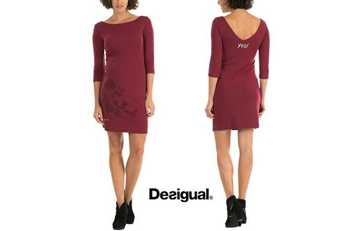 Vestido Desigual Amaryllis barato oferta descuento chollo blog de ofertas