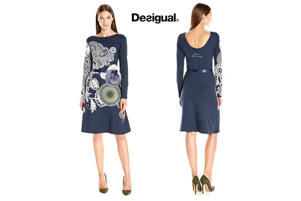 Vestido Desigual Anais barato oferta descuento chollo blog de ofertas