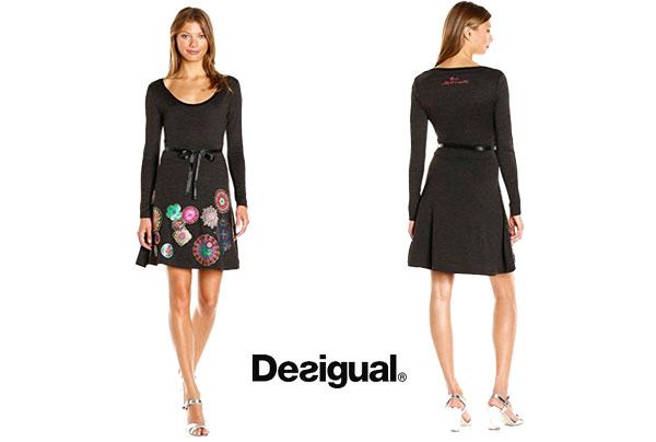 Vestido desigual Plinas barato oferta descuento chollo blog de ofertas