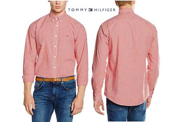 camisa Tommy Hilfiger Gingham barata oferta desdcuento chollo blog de oferta