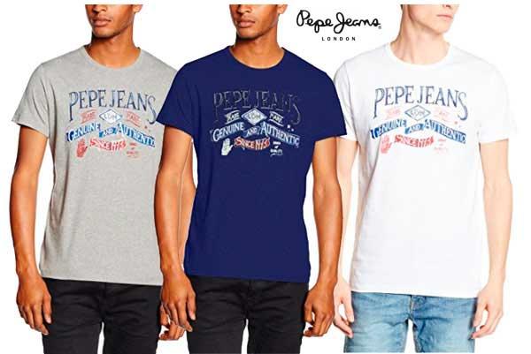 camiseta Pepe Jeans New Richmonds baratas oferta descuento chollo blog de ofertas