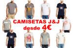 ¡Rebajas Jack & Jones! Camisetas desde 4€