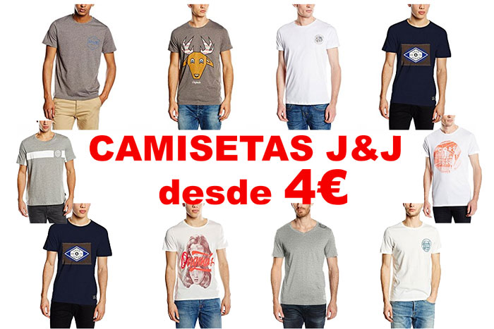 camisetas jack jones baratas desde 4e chollos amazon blog de ofertas bdo