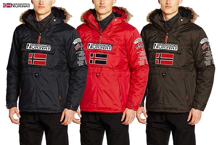 donde comprar chaquetón Geographical Norway Bamidbar barato chollos amazon blog de ofertas bdo