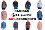 ¡Rebaja Final! Camisas El Ganso hasta -60% Descuento ¡Pocas Tallas!